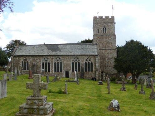 Awliscombe Church Devon 28-04-2009